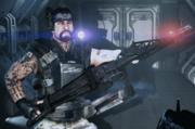 O'Neal with Smart Gun