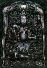 Work h-r-giger-art-artwork-dark-evil-artistic-horror-fantasy-scifi-wallpaper-1