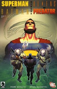 Superman and Batman vs. Aliens and Predators 1