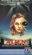 Alien 2 German VHS