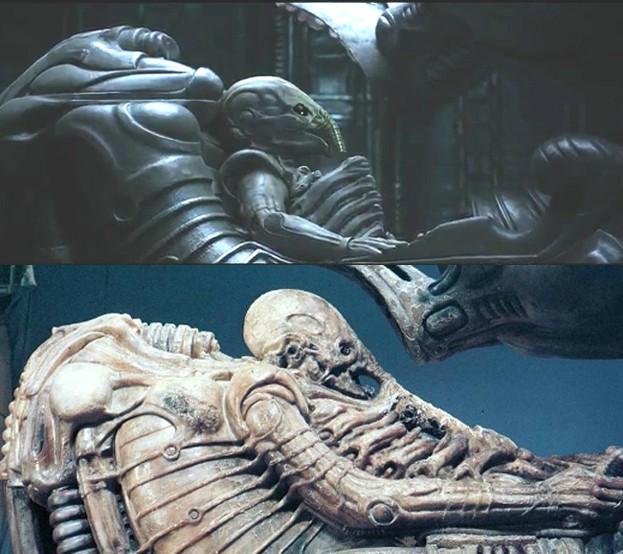 Alien-comparison
