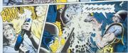 Hicks kills Warrior with shotgun (comic)