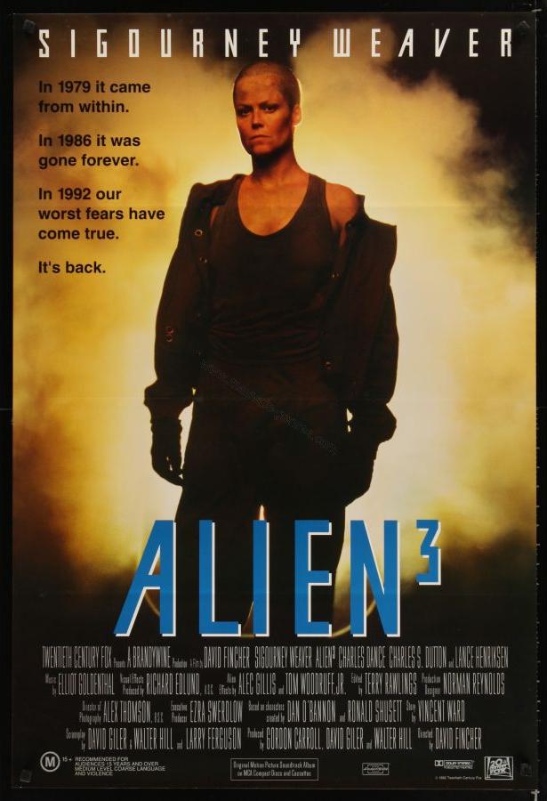 Image result for alien 3 poster