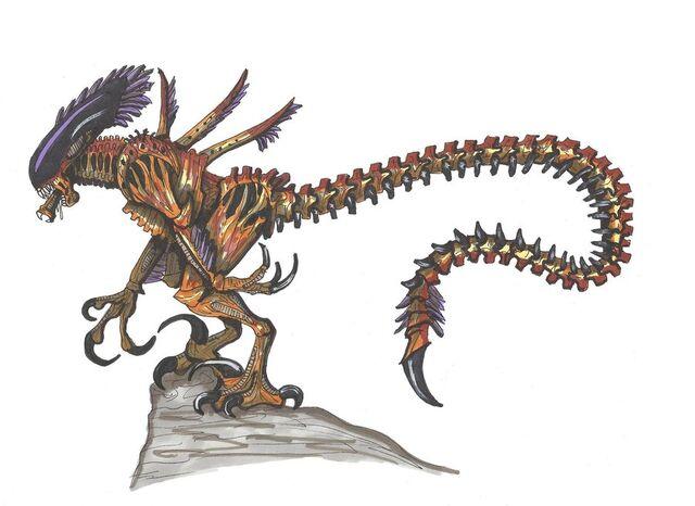 File:Velociraptor alien by hellraptor-d3b9d4m.jpg
