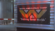 Aliens-Weyland-Yutani Sign