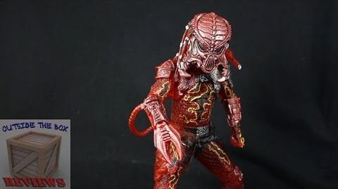 """Lava Planet Kenner tribute Predator"" NECA Predators wave 10"