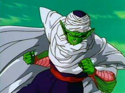 Piccolo Preparing to Fight