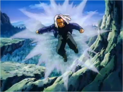 Trunks Telling his Father That They Can't Trust Paragus