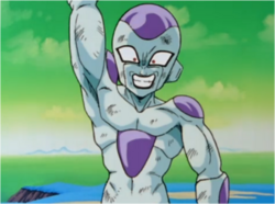 Frieza Preparing to Destroy Namek
