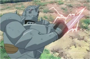 Alphonse While Fighting Kimblee & Pride 2