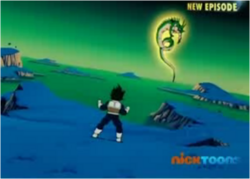 Vegeta Notices Porunga
