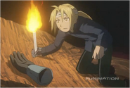 Edward Elric Finds his Brother's Arm inside of Gluttony's Gut
