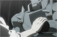 Alphonse Before Father Restores his Arm