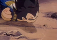 Vegeta defeated by super hatchyack