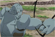 Alphonse While Fighting Kimblee & Pride
