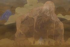 Madara battling the five Kage