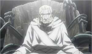 The Homunculi's Father Deep in Thought
