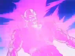 Piccolo Enduring Neiz's Attack