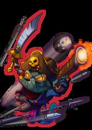 CharacterRender Chameleon Skin Pirate