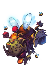 CharacterRender Gnaw Skin Bee redBG