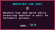 Modified Lab Coat Pickup