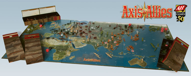 Image result for axis & allies anniversary edition 2017