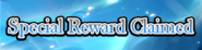 Swordsman's Journey Special Reward Claimed Heading