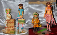 Yotsuba Ena Fuuka figures