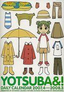 Yotsuba calendar daily 2007