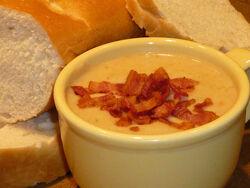 Bean-bacon-soup