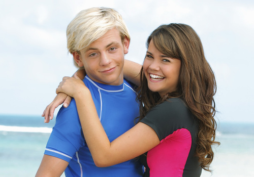 pictures of maia mitchell and ross lynch movie