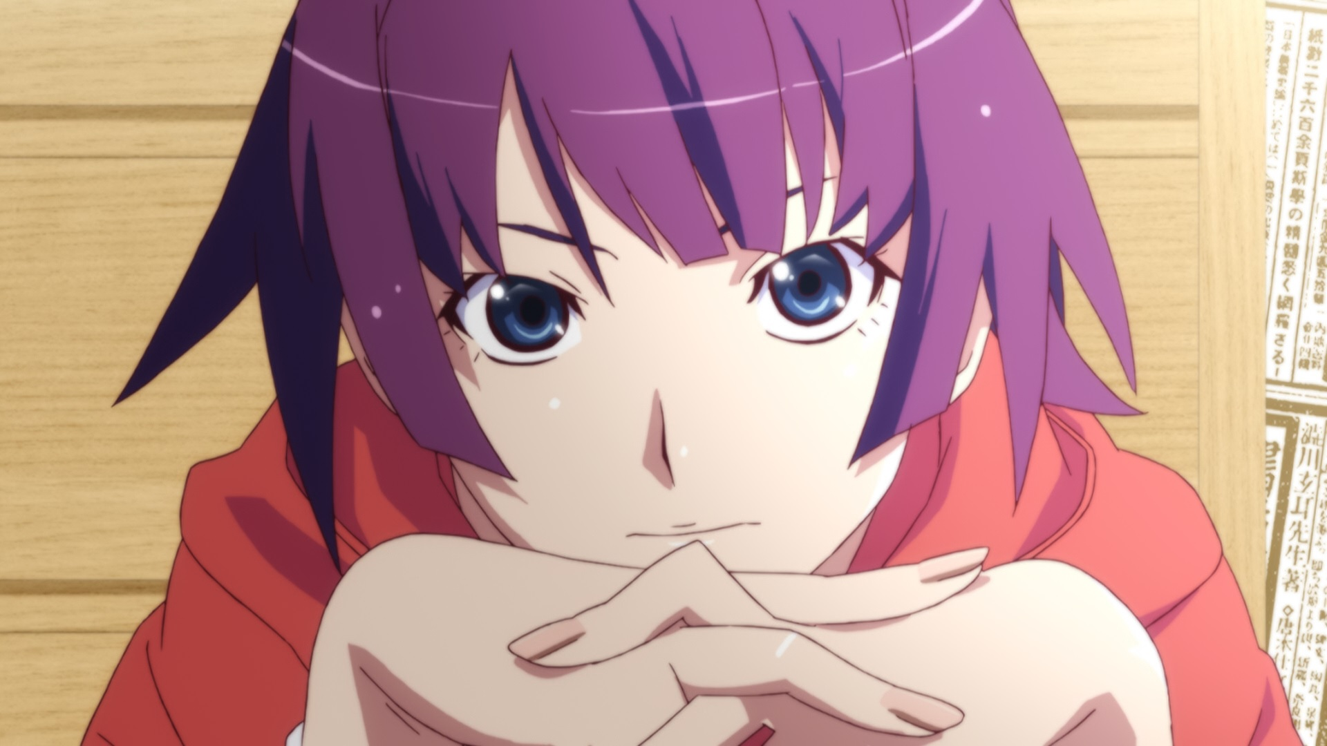 Image result for short hair hitagi