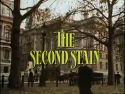 SHG title card The Second Stain