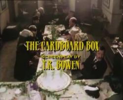 SHG title card The Cardboard Box
