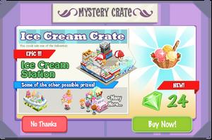 Ice Cream Crate