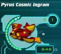 Pyrus Cosmic Ingram in Ball form