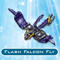 Flash falcon fly trap