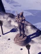 Shar-statue