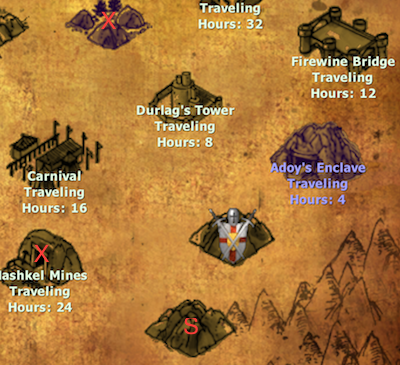 Valley of the Tombs connections
