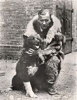 Gunnar Kaasen with Balto