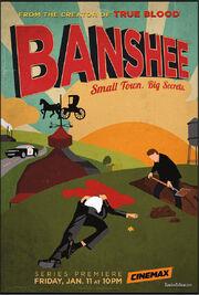 Banshee poster cinemax