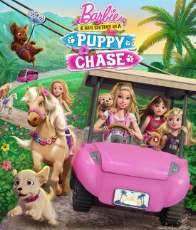 Barbie & Her Sisters in a Puppy Chase Cover