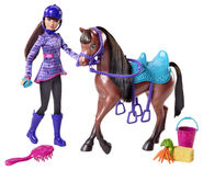 Barbie & Her Sisters in A Pony Tale Doll Skipper and Horse