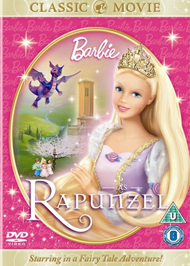 Barbie as Rapunzel Classic Cover