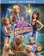 Barbie Great Puppy Adventure Blu-Ray 1