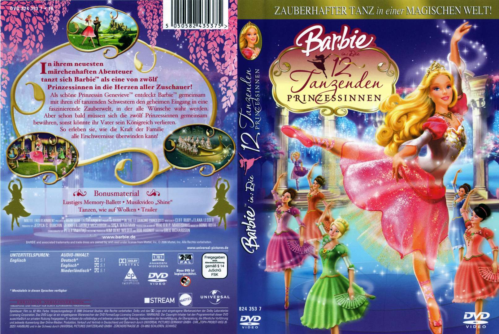 barbie 12 tanzende prinzessinnen