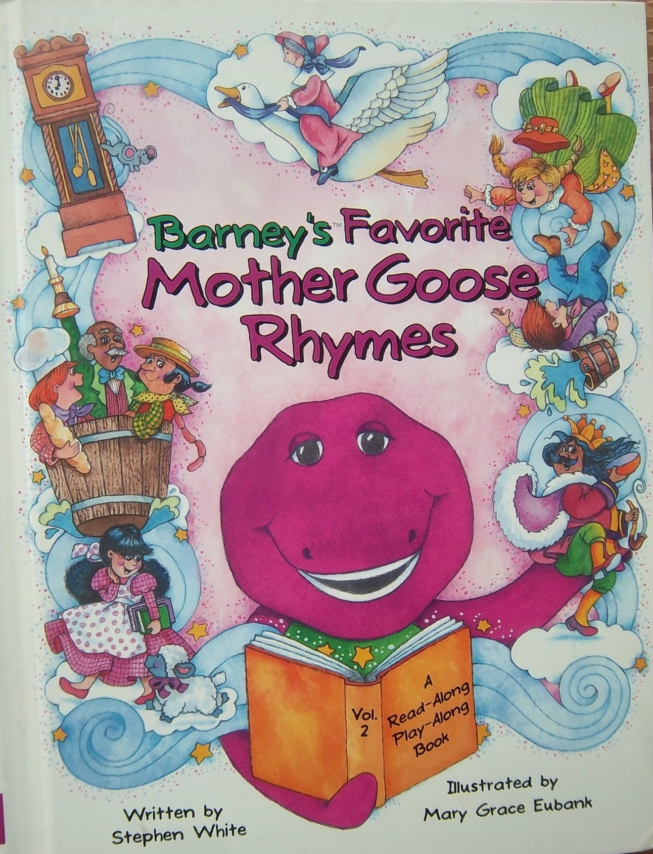 Barney S Favorite Mother Goose Rhymes Vol 2 Barney Wiki