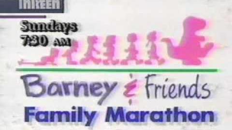 Barney & Friends Family Marathon Promo