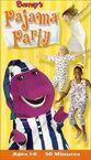 Barney's Pajama Party