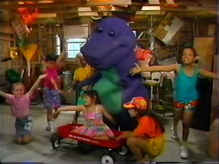 Talk The Backyard Show Barney Wiki Fandom Powered By Wikia